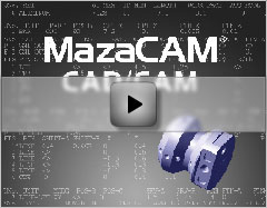 MazaCAM CAD CAM video the performance package and solid verification