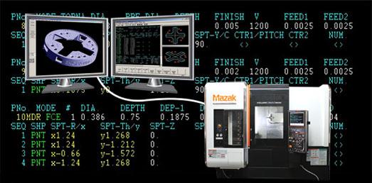 MazaCAM Smooth Edition CAD/CAM and Mazatrol Programming Software