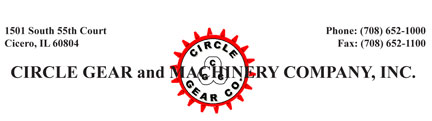 circle gear and machinery company inc header